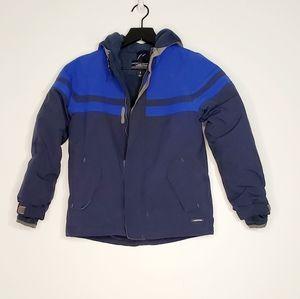 Lands End Boys Ski Blue  Jacket